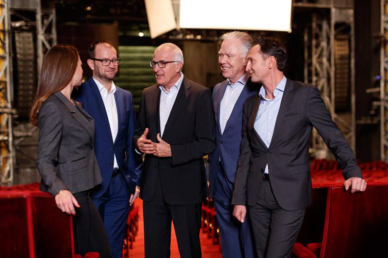 Christoph Schickhardt, Joachim Rain, Ralf Kitzberger, Leonie Frank & Wolfgang Frank